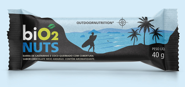 biO2 Nuts Bar Coco Queimado
